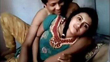 Busty Hot Indian Fucking Couple at Home