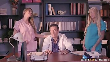 Sex Tape With Hot Patient In Doctor Office Sluty OfficeGagged clip