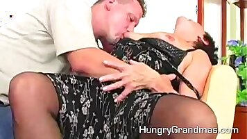 Horny Sluts Party And Fuck On The Hairy Granny If Only They Could Show