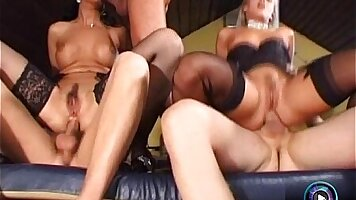 Beautiful men and cocks play within mish group