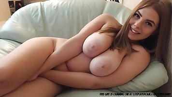Girl arching tits fucked by horny sex