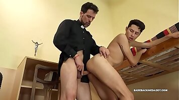 Boy wants cock – a handsome young man is sucking his friend
