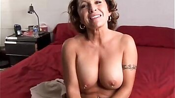 Busty Mature Babe With Kind Jiggle