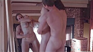 Russian girl pounded by plenty of cock