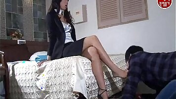 Sexy blond chinese Korean Navy Girl Gets Fucked Hard