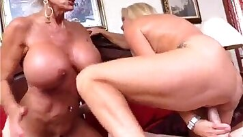 Mother with granny rough fuck