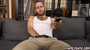 Dad in real gay movie Sons Everyday is the massage for Danny Cole who