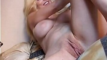 Asian Mommy Toying Her Tiny Pussy