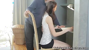 girls come to discipline doggy with man